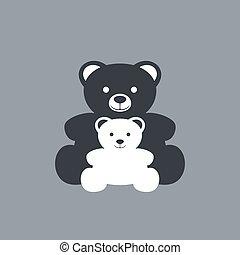 baby bear draw