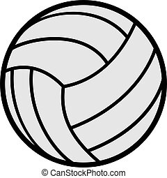 ball ov volleyball illustration