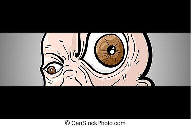 banner eye