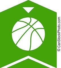 basket emblem symbol