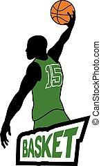 basket player icon
