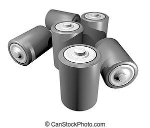 Battery render