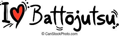 Battojutsu love message
