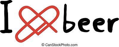 beer love icon