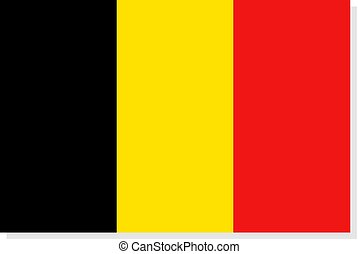 Belgium flag illustration - Creative design of Belgium flag...