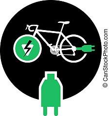 bike electric sign