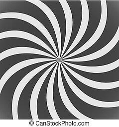 black spiral wallpaper