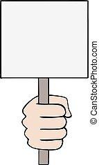 blank banner draw