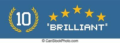 blue brilliant banner - Creative design of blue brilliant ...