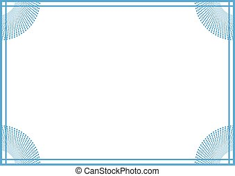 blue nice frame