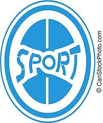 blue Sport symbol