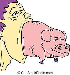 Boca big pig