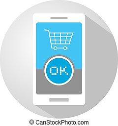 buy mobile button