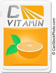 C vitamin - Creative design of C vitamin
