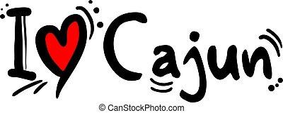 Creative design of Cajun music style