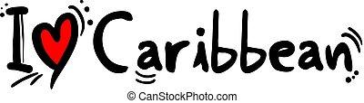 Caribbean music style - Creative design of Caribbean music...