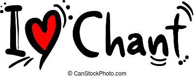 chant music style love - Creative design of chant music ...