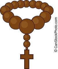 christian rosary draw - Creative design of christian rosary...
