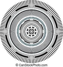 circle art background