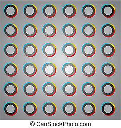 circles color art