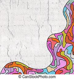color art frame