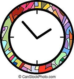 color clock icon