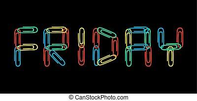 color Friday symbol