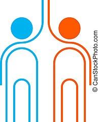 color friends symbol