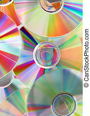colorful cds background