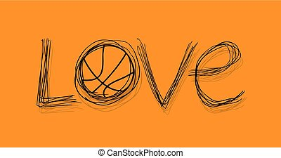 cool basketball love message
