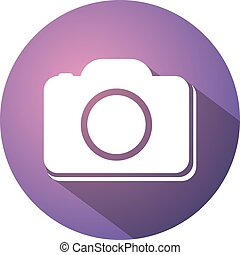 cool circle cam icon - Creative design of cool circle cam...