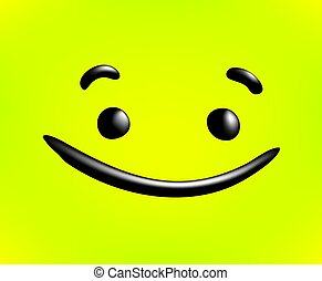 cool happy face draw