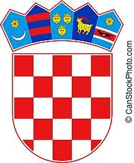 Croatia coat of arms - Creative design of Croatia coat of...