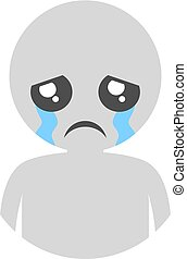 cry expression - Creative design of cry expression