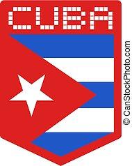 Cuba flag symbol