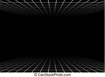 deep black background