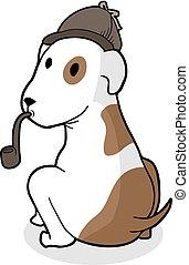 detective dog draw
