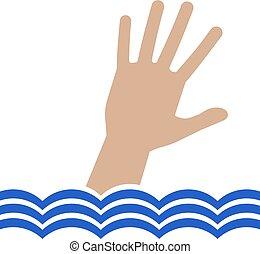 drowing hand illustration