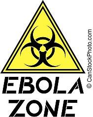 ebola zone - Creative design of ebola zone