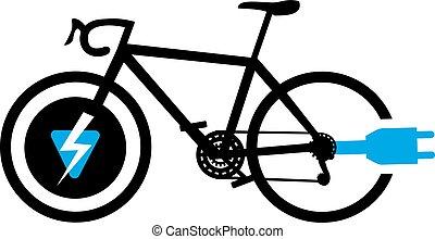 electric bike symbol