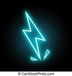 electric light symbol