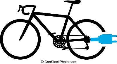 electro bike symbol - Creative design of electro bike symbol