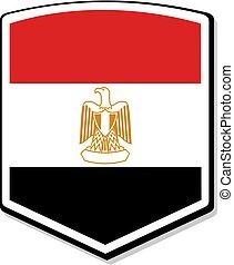 elegant Egypt emblem