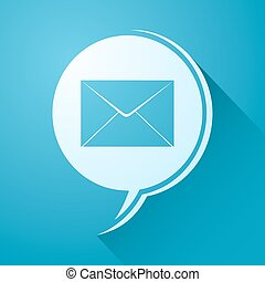 elegant email icon