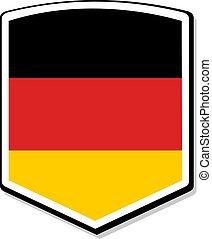 elegant Germany emblem