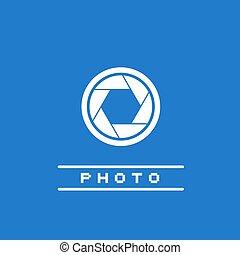 elegant Photo simple icon