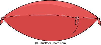 elegant red cushion - Creative design of elegant red cushion