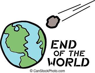 end of the world illustration