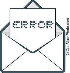 Error mail message