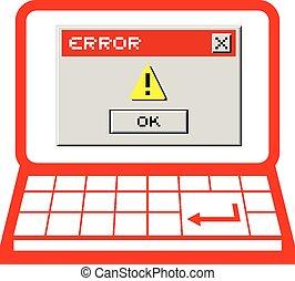 Error message pc